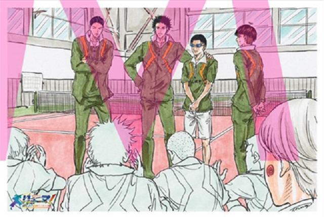 许斐刚绘制「龙马!新生剧场版网球王子」第2周特典插画卡公开